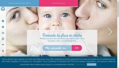Site internet de Creche Cafarandole