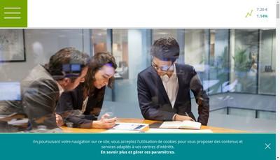 Site internet de Credit Agricole Payments Services