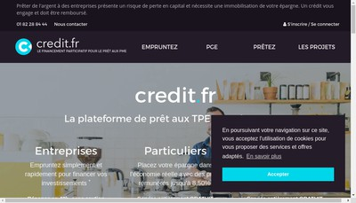 Site internet de credit.fr