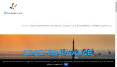 Site internet de Creditis