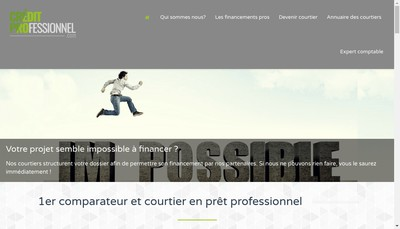 Site internet de Creditprofessionnel Com