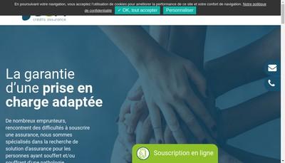 Site internet de Bcfi Credits Patrimoine