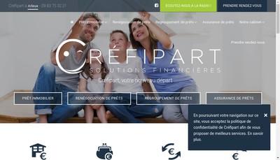 Site internet de Crefipart