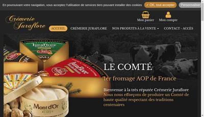 Site internet de Juraflore