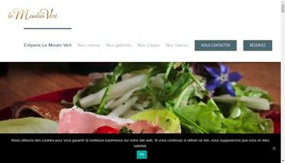 Site internet de Moulin Vert