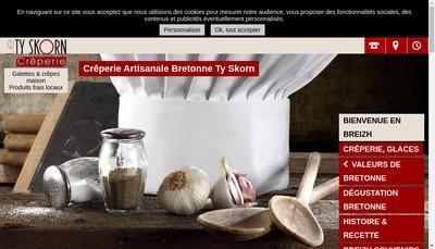 Site internet de Le Ty Skorn