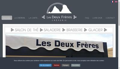 Site internet de Creperie les Deux Freres