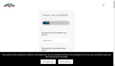 Site internet de Crepi Style
