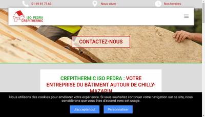 Site internet de Crepithermic