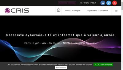 Site internet de Cris Reseaux