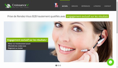 Site internet de Croissance V