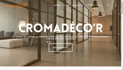 Site internet de Cromadeco'R
