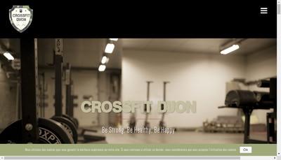 Site internet de Crossfit Dijon