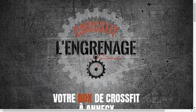 Site internet de Crossfit l'Engrenage