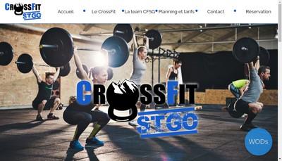 Site internet de Crossfit St-Go