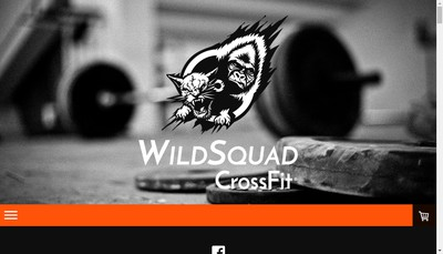 Site internet de Crossfit Wild Squad
