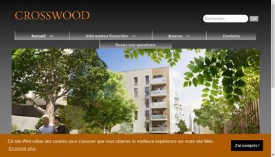 Site internet de Crosswood