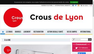 Site internet de Crous