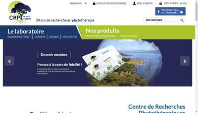 Site internet de CRP