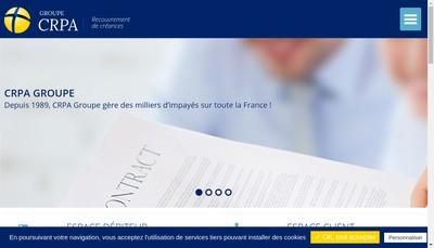 Site internet de Crpa Groupe