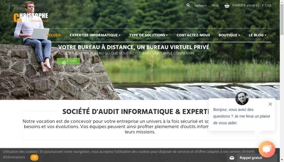 Site internet de Cs Informatique