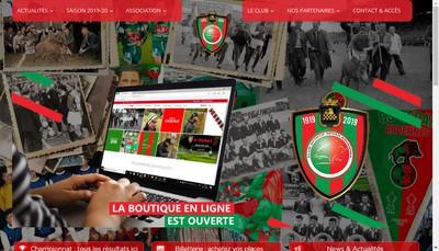 Site internet de Club Sportif Sedan Ardennes