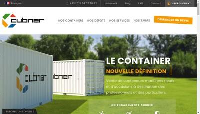 Site internet de Cubner