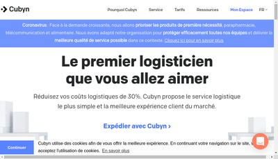 Site internet de Cubyn