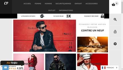 Site internet de Societe des Cuirs de Paris