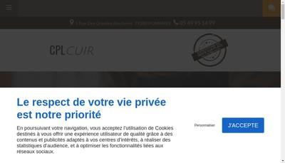 Site internet de Cpl