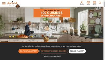 Site internet de Aviva
