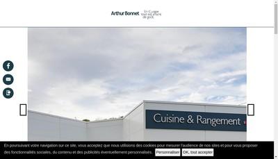 Site internet de Cuisines Pierre Etcheverry
