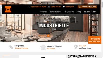 Site internet de SAS Morel