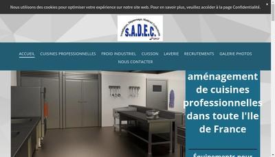 Site internet de SADEC