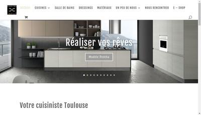 Site internet de Cuisines & Couleurs