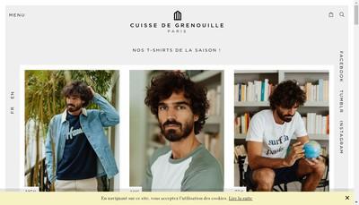Site internet de Cuisse de Grenouille
