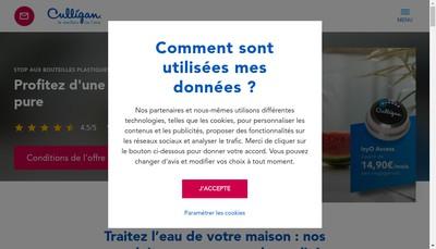 Site internet de Culligan France