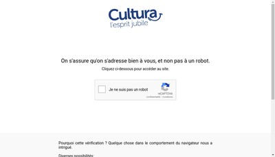 Site internet de Cultura
