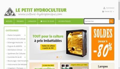 Site internet de Le Petit Hydroculteur