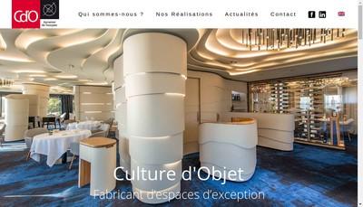 Site internet de Groupe Cdo - Cdo Culture d'Objets