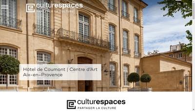 Site internet de Culturespaces