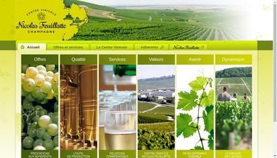 Site internet de Cv-Cnf Societe des Producteurs Champenois Union de Producteurs de la Champagne