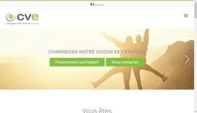 Site internet de Cap Vert Energie Exploitation I32