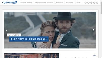 Site internet de Cyanea