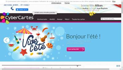 Site internet de Cybercartes