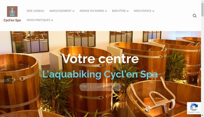 Site internet de Aqua Bike In Spa