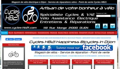 Site internet de SARL Hb21