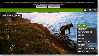 Site internet de Velomania