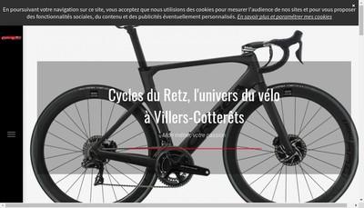 Site internet de Cycles du Retz