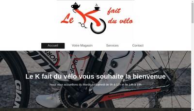 Site internet de Cycles Rebour